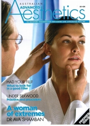 Rose Hip Vital features in Australian Advanced Aesthetics (January, 2009)