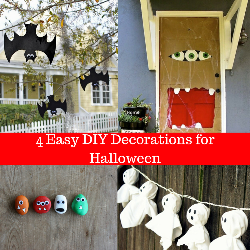 4 Easy DIY Decorations for Halloween