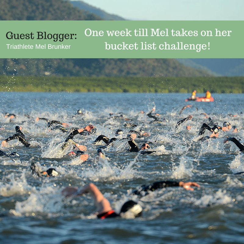 One week to go! Triathlete Mel steps up to the starting line…