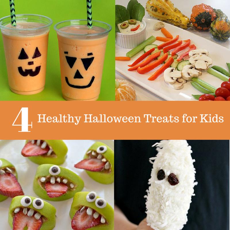 4 Healthy Halloween Treats for Kids