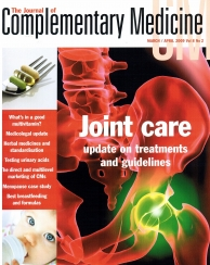 Results from trial using Rosehips to treat Osteoarthritic pain- Journal of Contemporary Medicine (April, 2009)