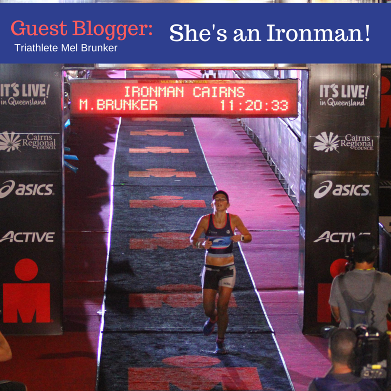 Guest Post: Triathlete Mel's Ironman Experience – she did it!