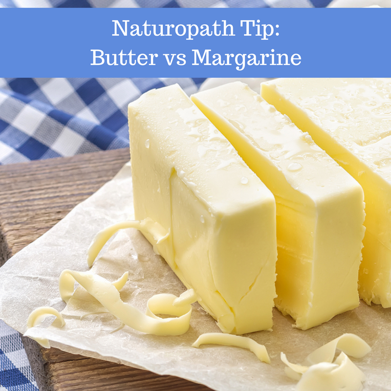 Naturopath Tip: We explain how margarine is made and why butter is better!