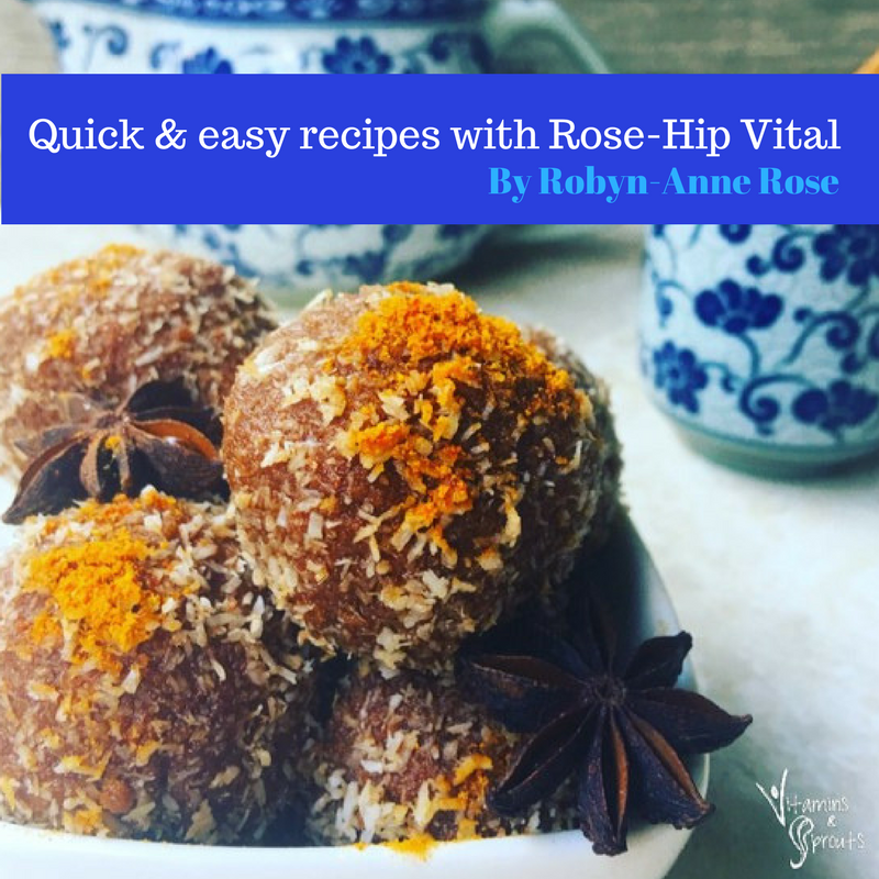 Quick, easy and nutritious recipes with Rose-Hip Vital