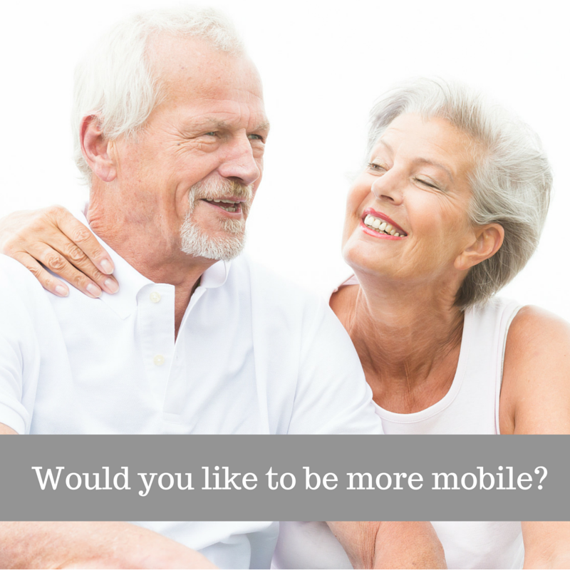 Would you like to be more mobile?