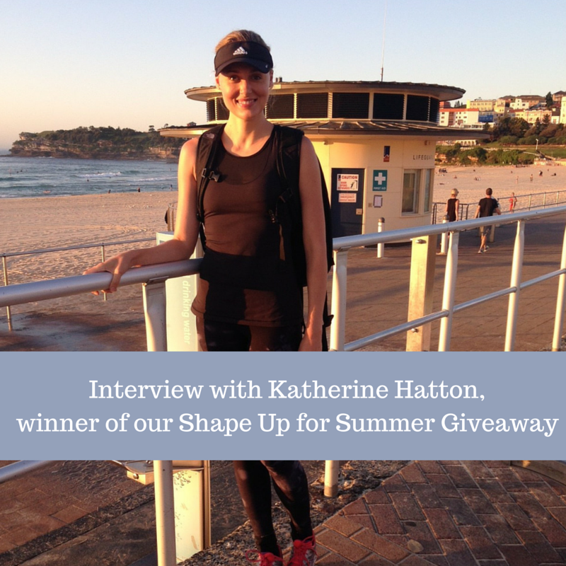 Interview: Preparing for the Sydney Coastrek and Katherine's favourite post-exercise smoothies
