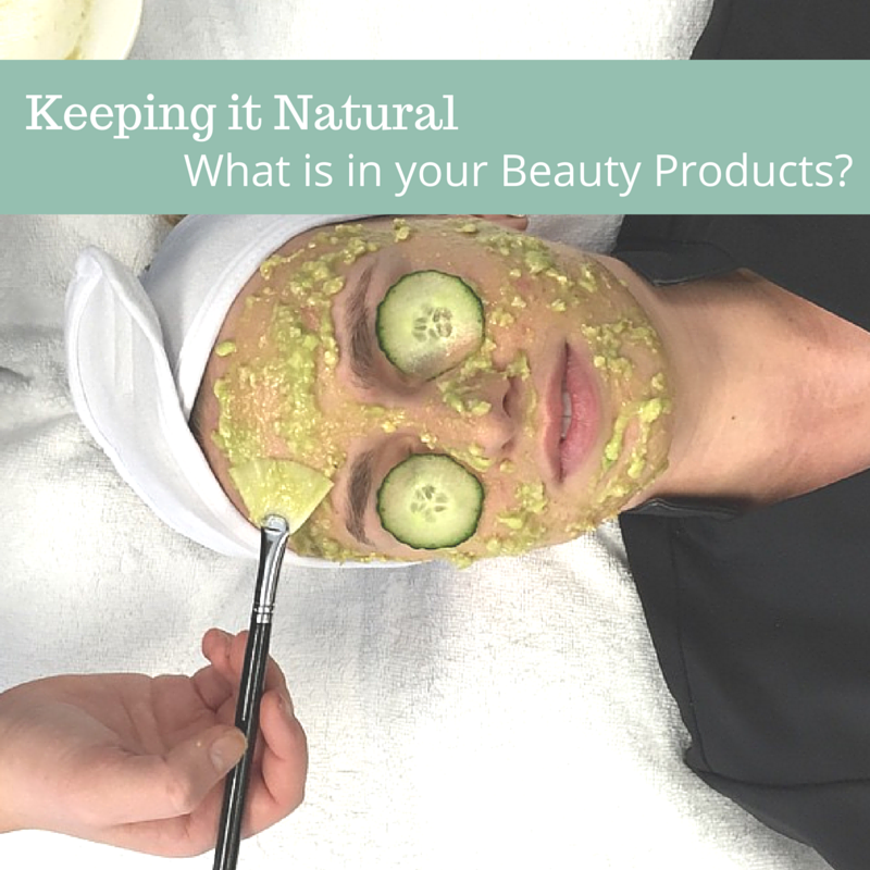 Keeping it natural. Do you know what's in your beauty products?