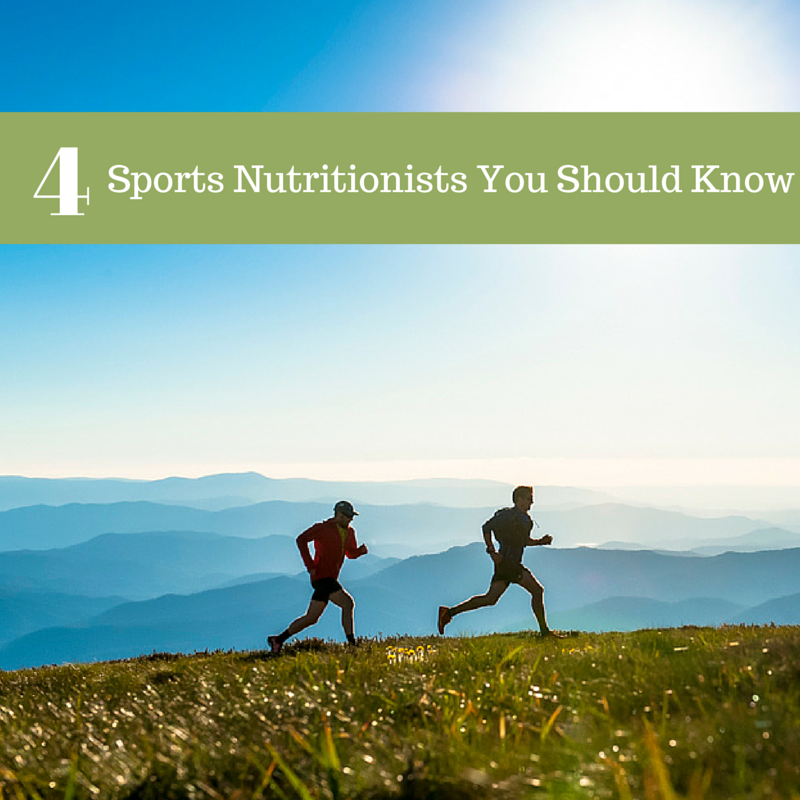 4 Sports Nutritionists You Should Know
